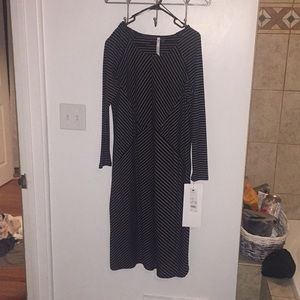 NU collection jet hollystripe dress NWT MSRP $78